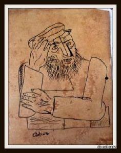 Jankel Adler [2]degenerate WW German artist banned by N@zi's
