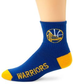 Amazon.com   NBA Golden State Warriors Men s Team Quarter Socks 59fd52948