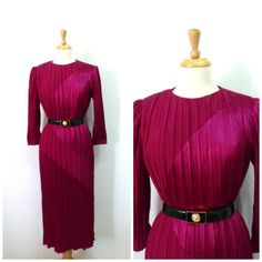 Vintage 1980s Dress by Morton Myles for Warrens by KMalinkaVintage