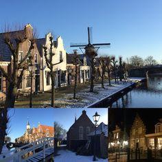 Winter in Sloten ... een prachtige zondag in januari 2016 #friesland