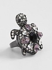 turtle bling | Guess, ring, turtle, bling @Barb Gingerich I thought of you when I saw ...