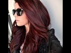 45 Shades of Burgundy Hair: Dark Burgundy, Maroon, Burgundy with Red, Purple and Brown Highlights Red Hair red brown hair color Dark Red Hair With Brown, Red Brown Hair Color, Dark Brown, Color Red, Auburn Brown, Color Shades, Natural Dark Red Hair, Brown Shades, Redish Brown Hair