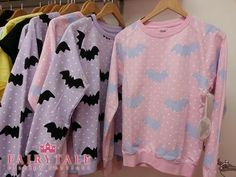 Hello Cavities Twinkle Twinkle Bat Sweatshirt in by hellocavities from hellocavities on Etsy. Saved to ☆wishlist☆. Grunge Goth, Nu Goth, Soft Grunge, Pastel Grunge, Pastel Goth Fashion, Indie Fashion, Kawaii Fashion, Harajuku Fashion, Fashion Killa
