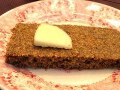 Focaccia Style Flax Bread