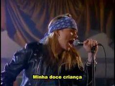 ▶ Guns N' Roses - Sweet Child O' Mine(Legendado) - YouTube
