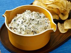 Blue Cheese Dip from #FNMag for the #BigGame this weekend.