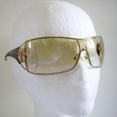 52f346f5dc177 Giorgio Armani GA320 s Brown   Gold Gradient Shield Sunglasses NO CASE Italy   ARMANI