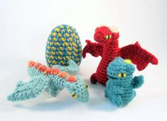 Vincent the Dragon in 2020 | Crochet dragon pattern, Crochet ... | 171x235