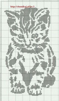 Thrilling Designing Your Own Cross Stitch Embroidery Patterns Ideas. Exhilarating Designing Your Own Cross Stitch Embroidery Patterns Ideas. Chat Crochet, Crochet Chart, Crochet Patterns, Crochet Ideas, Cross Stitch Charts, Cross Stitch Designs, Cross Stitch Patterns, Knitting Charts, Knitting Stitches