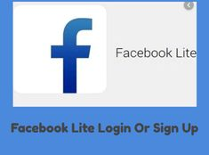 Facebook Lite Login, How To Use Facebook, Latest Facebook, Sign Up Page, Login Page, Facebook Messenger, Being Used, Read More