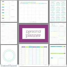 Lots of free printables to help you create a planner that works for you! There are various daily planner printables, weekly planner printables, printable calenedars and more.