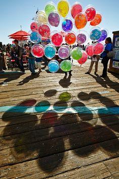"""Summertime."" Max's Balloons, Santa Monica, CA © 2013 Joanne Dugan."