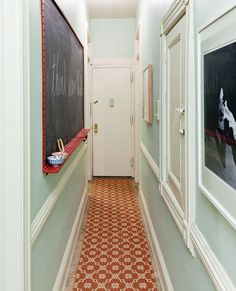 smart idea for an entryway