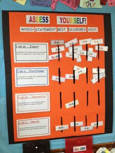 Embedded image permalink Classroom Data Wall, Social Studies Classroom, Classroom Displays, Classroom Organization, Classroom Design, Future Classroom, Classroom Ideas, Student Data Tracking, Student Self Assessment