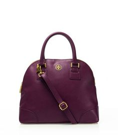 Robinson Small Dome Satchel   Womens The Robinson Collection   ToryBurch.com