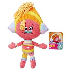 DreamWorks Trolls Huggable, snugable dolls. Keep the fun and happy memories alive with this plush dolls of Poppy and her friends. http://xacey.com/trolls-hug-time-poppy/