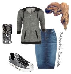 """""""Apostolic Fashions #794"""" by apostolicfashions on Polyvore featuring Diesel and Converse"""
