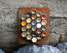 The CUSTOM Magnetic Spice Rack Includes:  :  24 Small (1.5 Oz) Hexagon Magnetic  Jars For Fridge  :  Choice Of Silver, Gold Or Black Lids  :  | Pinterest ...