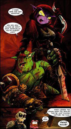World of Warcraft Warcraft Comics, World Of Warcraft, Geek Stuff, Joker, Funny, Movie Posters, Movies, Fictional Characters, Fantasy