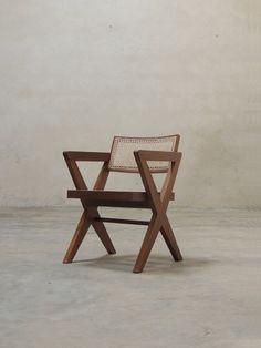 Pierre Jeanneret Cross Leg Chair (X legs)