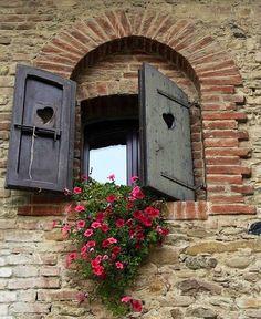 Window with flowers image via Celebrating Life on Facebook at www.facebook.com/CelebratingLifeNow