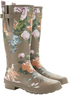 Joules wellies...