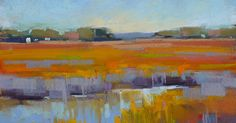 'Listen to the Music of the Marsh' 8x10 pastel ©Karen Margulis SOLD I think I'm going to like this s...