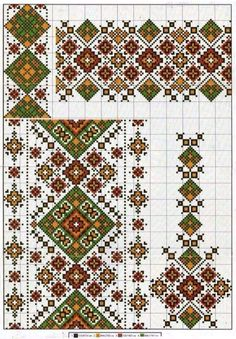 Embroidery Stitches, Embroidery Patterns, Cross Stitch Patterns, Different Patterns, Pattern Fashion, Bohemian Rug, Rugs, Style Patterns, Crochet