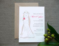 Bridal Shower Invitation  Printed  Wedding by SideStreetDesigns, $1.90