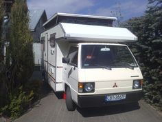 Mitsubishi L300 KIP camper 1984