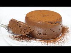 FARA gelatina! Cum sa faci budinca de ciocolata cu ingrediente simple! - YouTube Flan, Ice Cream, Vegetarian, Cooking, Sweet, Youtube, Deserts, Recipes, How To Make