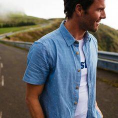Men's Petrel Short Sleeve Cotton Shirt | Finisterre