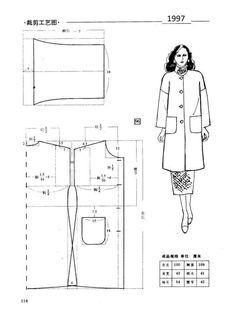 Girl Dress Patterns, Coat Patterns, Doll Clothes Patterns, Vintage Sewing Patterns, Clothing Patterns, Skirt Patterns, Blouse Patterns, Vest Pattern, Free Pattern