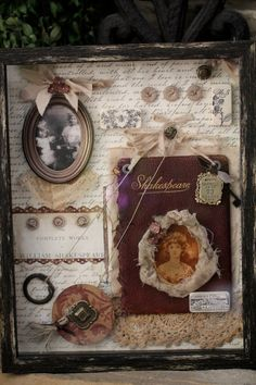 Shadow box ideas #Sh