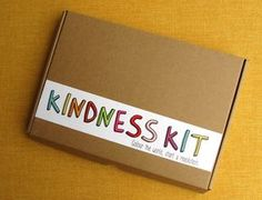 What an awesome idea- make a Kindness Kit & give/send it to someone