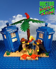 Doctor Who meets Doctor Who legos! I Am The Doctor, First Doctor, Lego Doctor Who, Dr Who, Superwholock, Software Development, Best Shows Ever, Legos, I Movie
