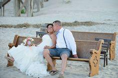 Aryanna & Daren   Corolla Beach Wedding   heart-of-harlow