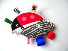 LADYBUG - sensory toys from agatownik