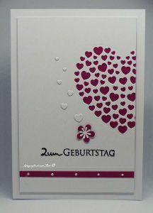 Stanzen: Karten-Kunst Heart of Hearts, Stempel: Karten-Kunst Kombi Set Grüße #KartenKunst #Kartendesign #Stempel #stamping #cardmaking #Stanzschablonen #diecutting #Herzen Memories Box, Paper Pumpkin, Big Shot, Blog, Cards, Stamping, Paper, Homemade Cards, Map Art
