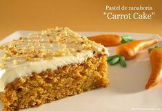 Pastel de zanahoria - MisThermorecetas.com Cake Thermomix, Thermomix Desserts, Sweet Recipes, Cake Recipes, Dessert Recipes, Happy Foods, No Bake Treats, Bellini, Let Them Eat Cake