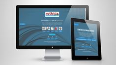 Web ideada con la función de que los clientes puedan acceder a la oferta publicitaria y visualización de trabajo.  Empresa comercial de Noticias Locales S.L.  www.hemerotecanoticiaslocales.org