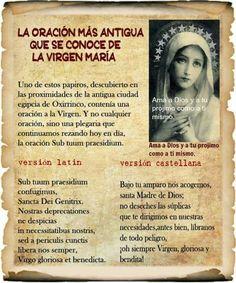 La oración más antigua..