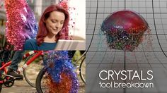"Jump to 00:45 to see the Tool Breakdown.  This is a tool I developed for the SKY Commercial - Solo Per Te (Crystals). My main focus was to create a tool that other artists could use pretty easily but also something that could adapt to different VFX shots quickly. I had to create it making it possible to use the particles to ""materialize"" an object from air, but also to constrain the particles on a surface to morph an object into another one.  3 different particle systems were used to ac..."