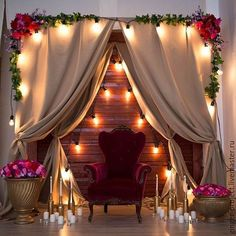 Image may contain: people sitting, living room, table and indoor Party Decoration, Backdrop Decorations, Wedding Decorations, Wedding Stage, Diy Wedding, Rustic Wedding, Debut Ideas, Photo Booth Backdrop, Wedding Background