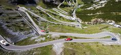 The summer regularity event by Cuervo y Sobrinos, a wonderful rally for classic cars lovers. Ferrari, Mountain Pass, Rally, Vintage Cars, Classic Cars, Racing, Landscape, 6 July, Hairpin