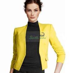 Online Shop blazers slim pattern candy colour red yellow orange blue black blazer women blazers and jackets womens business suits|Aliexpress Mobile