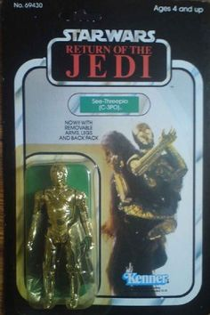 vintage star wars - kenner return of the jedi c-3p0: Amazon.co.uk: Electronics