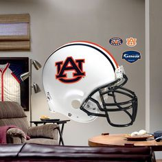 Fathead Auburn University Tigers Helmet Wall Decal, Multicolor