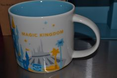 #DisneyWorld exclusive #MAGICKINGDOM #Starbucks #CoffeeMug YOU ARE HERE not epcot FREE SHIPPING