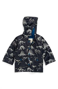 Hatley 'Dino Bones' Rain Jacket (Baby Boys, Toddler Boys, Little Boys & Big Boys) | Nordstrom